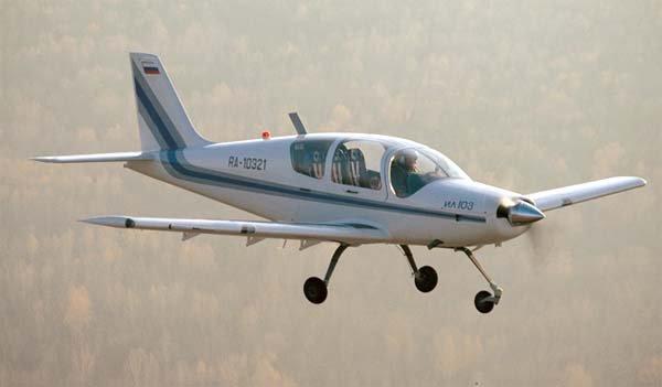 俄罗斯一架伊尔-103飞机坠毁
